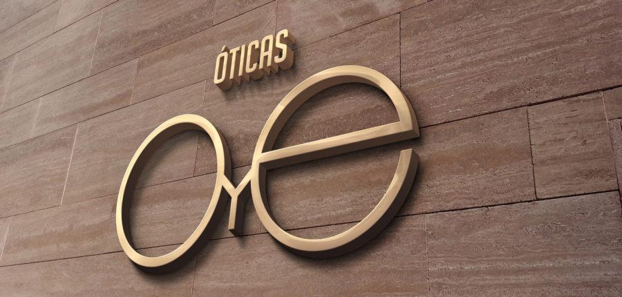 OTICAS OyE – Identidade Visual